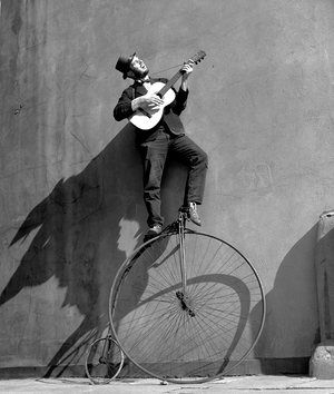 Troubadour: The Penny Farthing Bicycle, 1956 Ken Russell