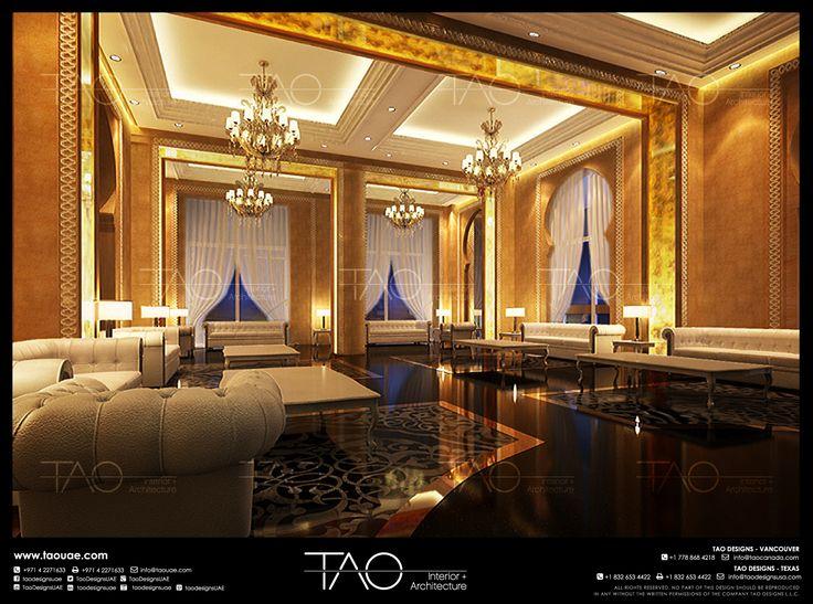 Palace Living Room Interior Abu Dhabi UAE