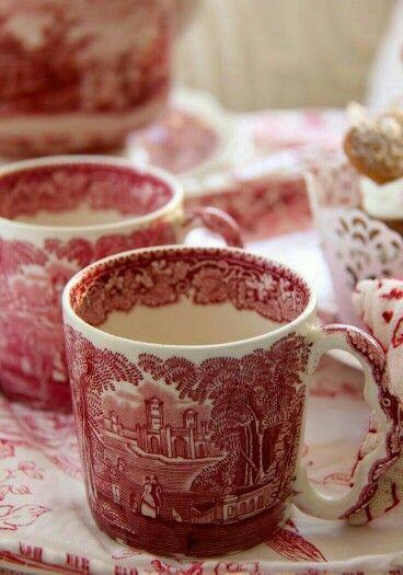 Cups so lovely... #vintagepretties