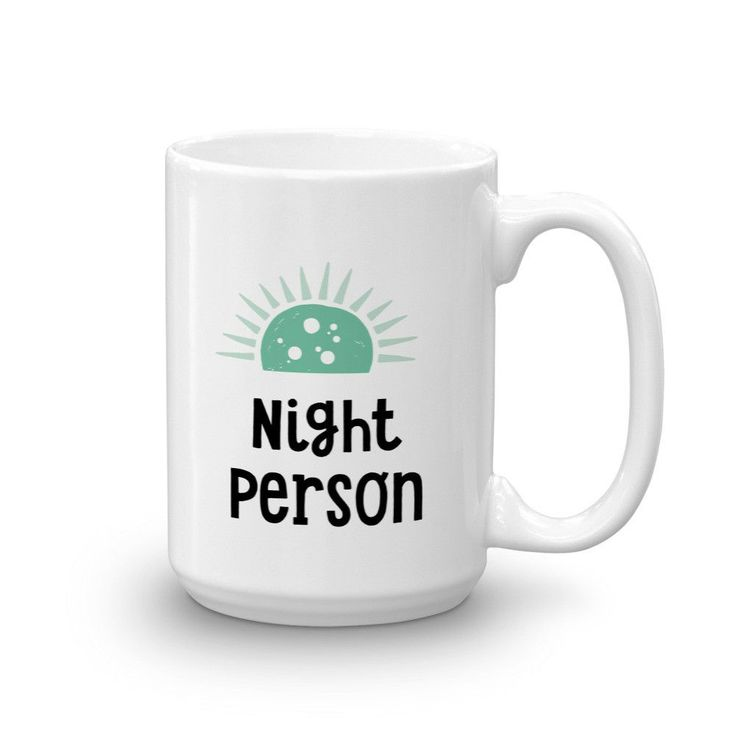 Night Person Mug