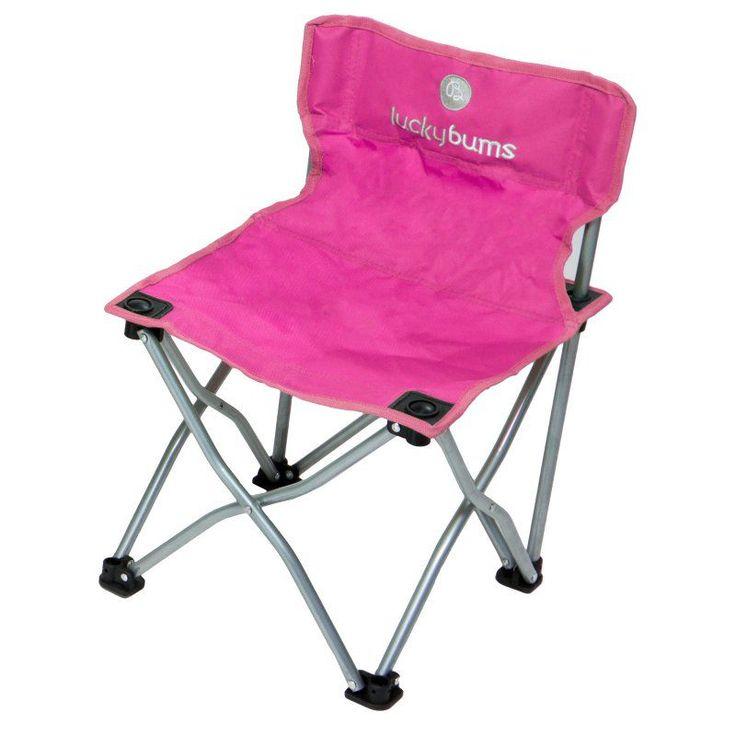 Outdoor Lucky Bums Kids Camp Chair - Pink - 187PK