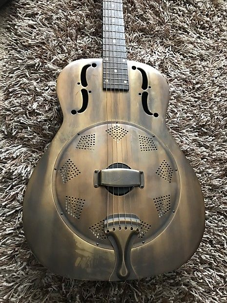 #Resonator Heirloom Brass #guitarsforsale #vintageguitars #gibson #lespaul #dean #fender #musician #guitarplayer