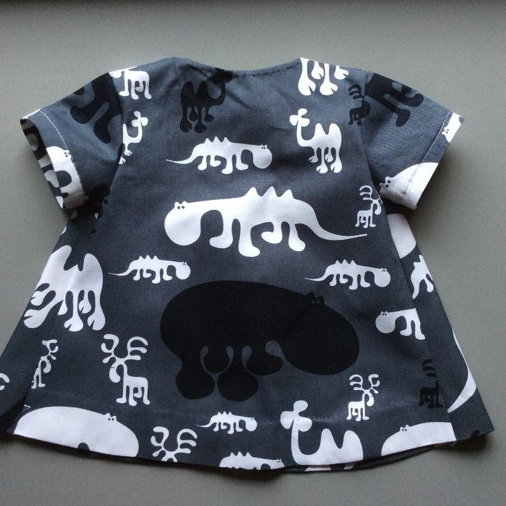 """""""Zoo""""(EeroAarnio)dress for todlers/ESDesign"""