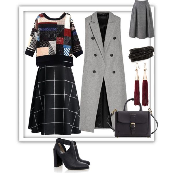 A fashion look from December 2015 by prusakova-1 featuring rag & bone, Phase Eight, Chicwish, Senso, Burberry, Eddie Borgo и Pieces