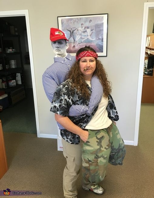 forrest gump carrying lt dan costume - Halloween Costume For Fat People