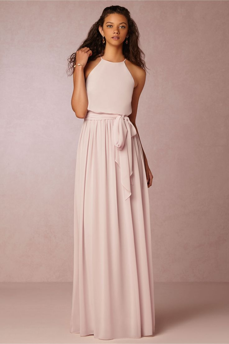 WITH THIS DRESS BOTH COLOR OPTIONS WORK WITH OUR COLOR SCHEME- BHLDN Alana Dress BHLDN