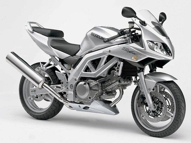 Suzuki SV650S - You never forget your first bike.
