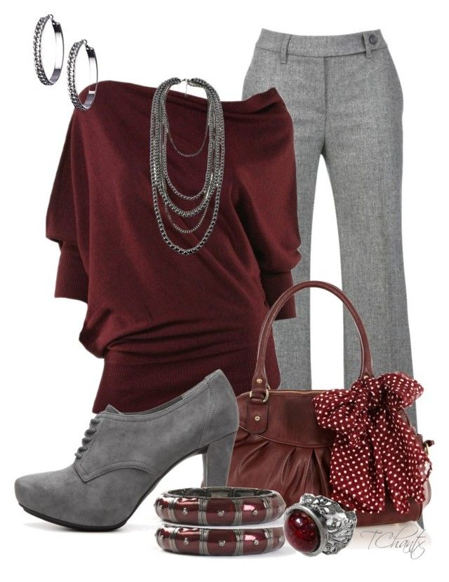 """""""Like a fine wine"""" by tchantx ❤ liked on Polyvore featuring Gardeur, Max Studio, Oasis, Me Too and Blu Bijoux"""
