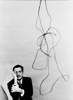 Arnold Newman, Dali NYC, 1951
