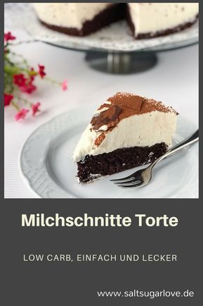 Milchschnitte als Torte
