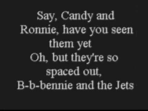 B b b bennie and the Jetsssssss  - as seen in Jackson, Memphis and performed on stage with him in Memphis