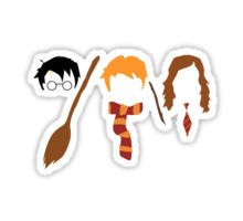 Harry Potter Trio  Sticker