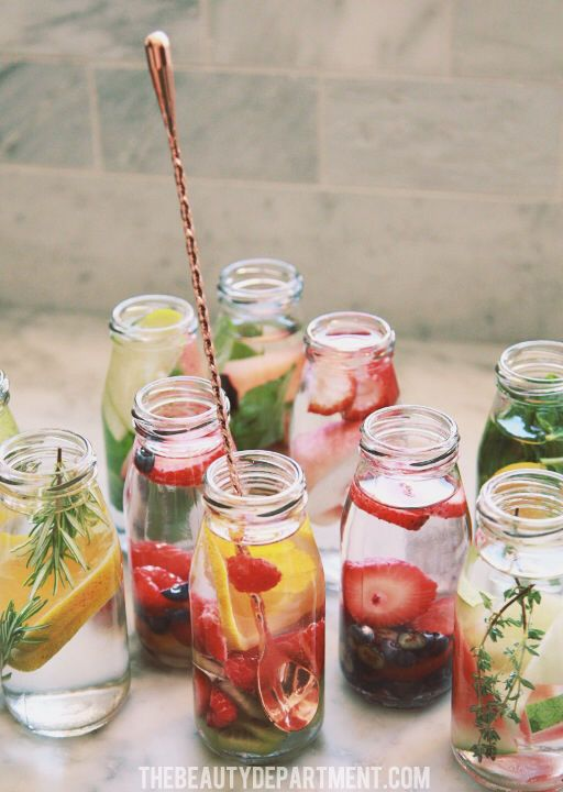 The Beauty Department: Your Daily Dose of Pretty. - FRUIT INFUSED WATER