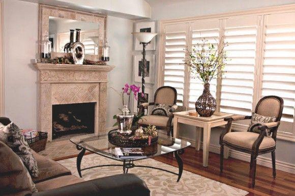 LIVING ROOM PAINT IDEAS Serene and glamorous living room