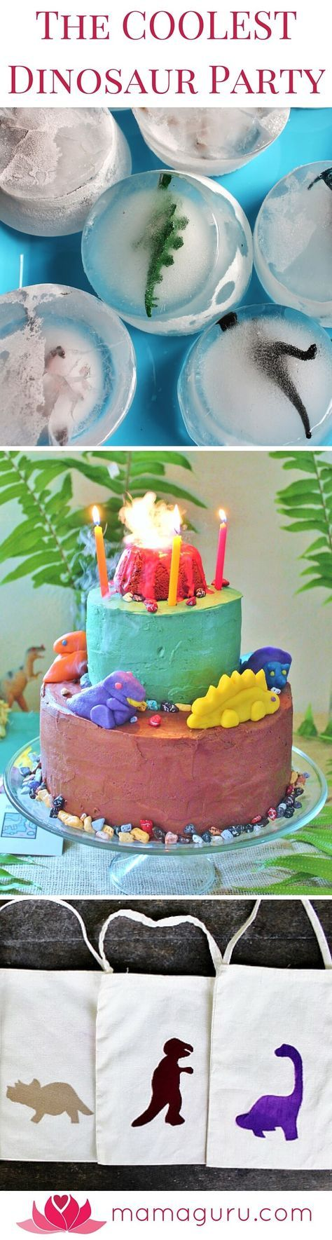 This is a complete guide to hosting the coolest dinosaur birthday party ever! You can throw the best party on the block without racking your brain or blowing your budget. It includes: 9 unique dinosaur party activities, DIY invitations, a dinosaur-themed party menu, dino goody bags, party favors, dramatic DIY decorations, and an awesome dinosaur cake with a steaming volcano on top! Best of all, it's inexpensive to host, but it's exciting and memorable for the kids. This party was designed…