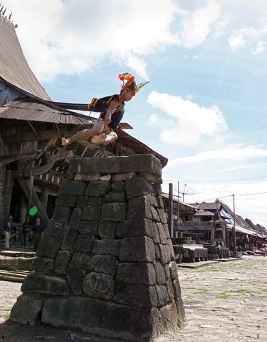 Jumping stone, South Nias