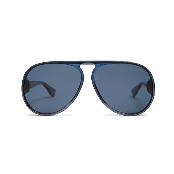 Dior Diorlia aviator sunglasses ($256) ❤ liked on Polyvore featuring accessories, eyewear, sunglasses, blue, oversized sunglasses, aviator style sunglasses, christian dior glasses, oversized aviator sunglasses and blue sunglasses