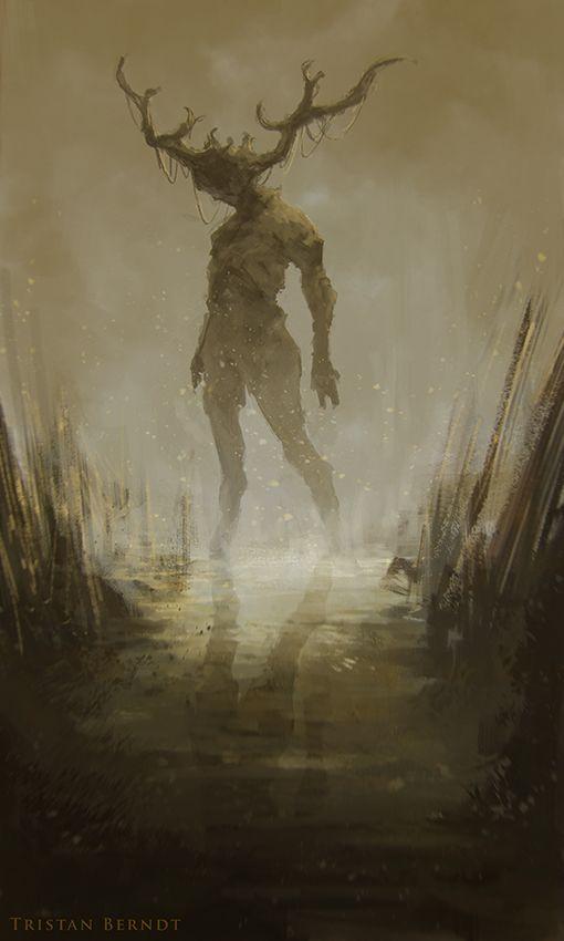 Swamp Walker (sketch) by TristanBerndtArt.deviantart.com on @DeviantArt
