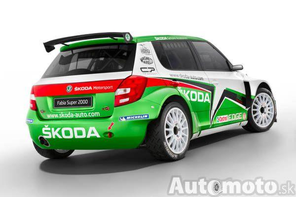 Škoda Fabii RS 2000 (2011)