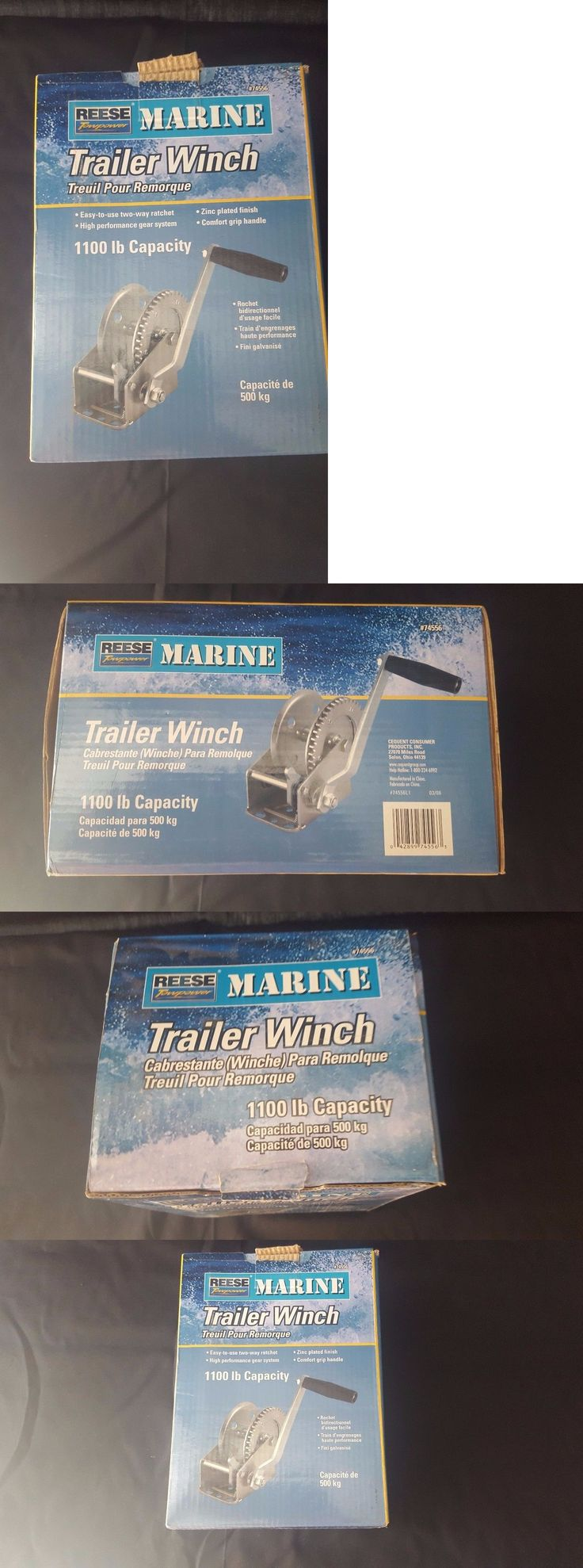Winches 66796: Reese Towpower 74556 1100 Pounds Hitch Winch Without Strap -> BUY IT NOW ONLY: $34.89 on eBay!