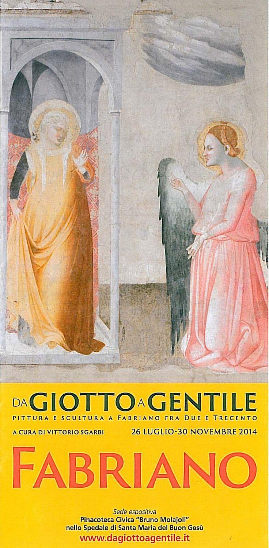 Non perdere la #mostra più attesa a #Fabriano! 'Da Giotto a Gentile' ti aspetta fino al 30 Novembre, prenota la tua camera  e risparmia con i nostri pacchetti. Scopri come su http://bit.ly/1xy1gKm