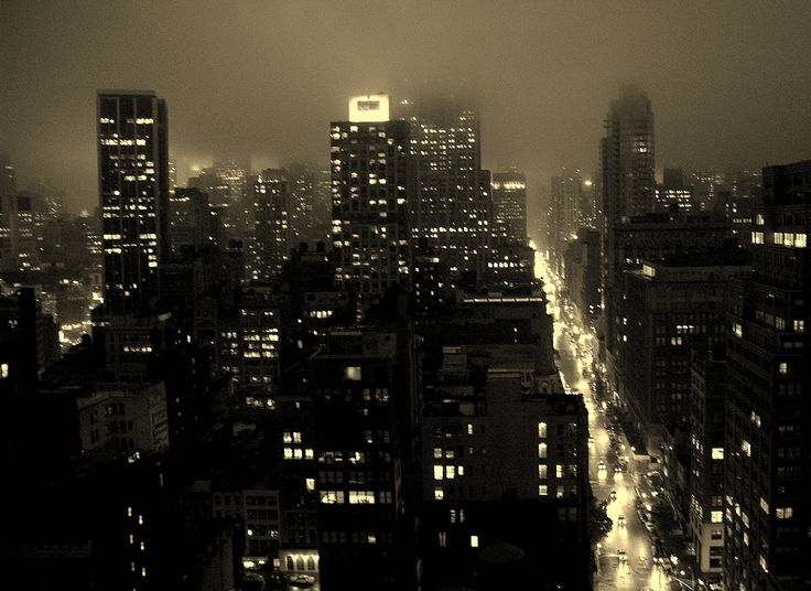 Misty NYC - Gotham City I