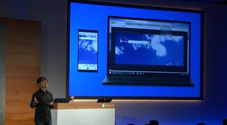 Microsoft Unveils Windows 10's Spartan Browser