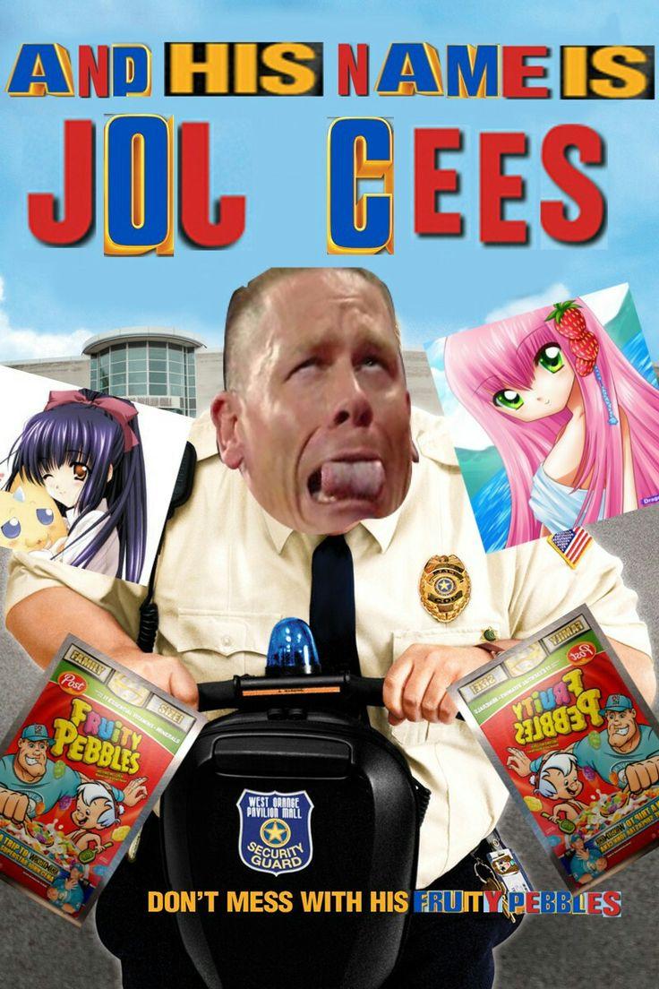 John Cena | Paul Blart Meme Cop