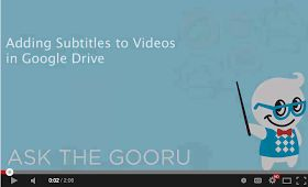 Educational Technology and Mobile Learning: Easy Way to Add Subtitles to Videos in Google Drive