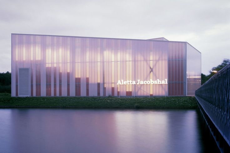 Aletta Jacobshal in Groningen with Rodeca polycarbonate facade