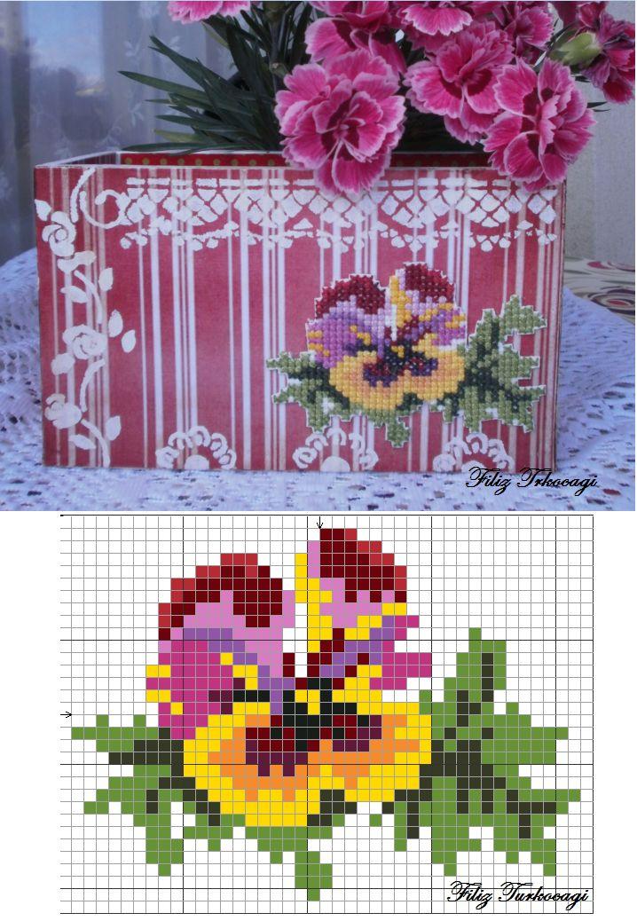 Wiola. Designed and stitched by Filiz Türkocağı