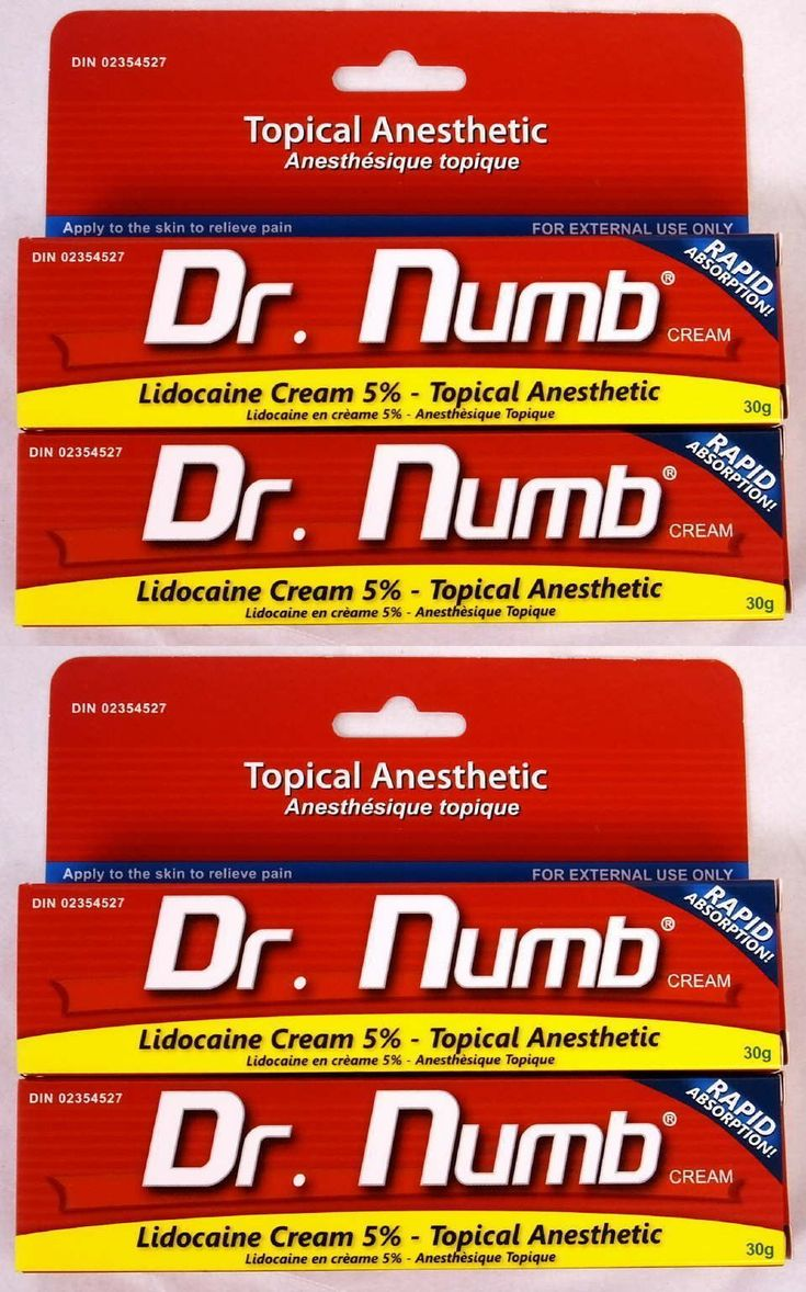 Tattoo Supplies: Dr Numb 5% Lidocaine Cream 30 Gr - 2 Tubes 2X Skin Numbing Tattoo/Removal New BUY IT NOW ONLY: $59.94 #tattooremovalnatural #tattooremovalproducts