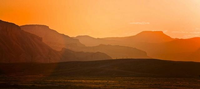 The Bookcliffs in western Colorado. By Dennis Herzog, flickr