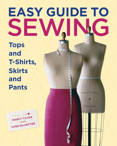 Easy Guide to Sewing. Expert step-by-step information including tips and trade secrets for how to layout, cut and construct tops and t-shirts, skirts and pants. A gold mine of reassuring and reliable information is a must-have reference guide. #sewing $16.96
