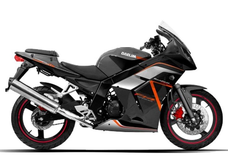 DAELIM ROADWIN 250 R FI Motos clasicas, Motos, Motocicletas