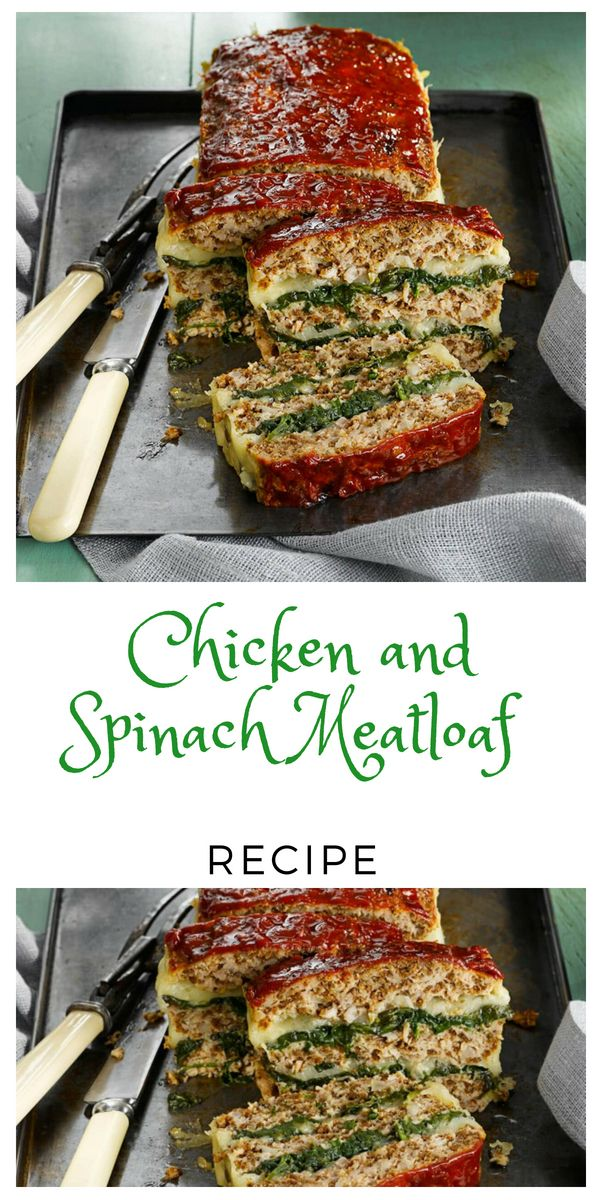 View Spinach Meatloaf Recipe Pics