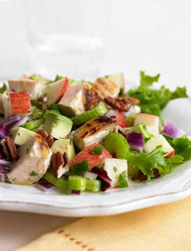 YUM YUM YUM YUM YUM!!!!!   The Biggest Loser - Club Corner - Avocado and Apple Chicken Salad