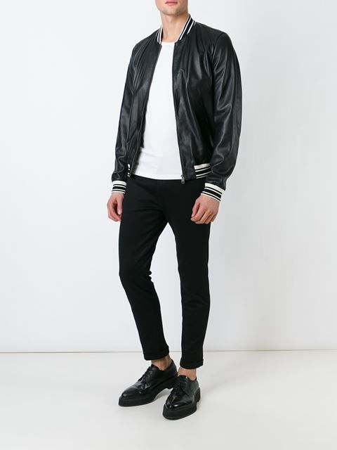 Dolce & Gabbana classic varsity jacket