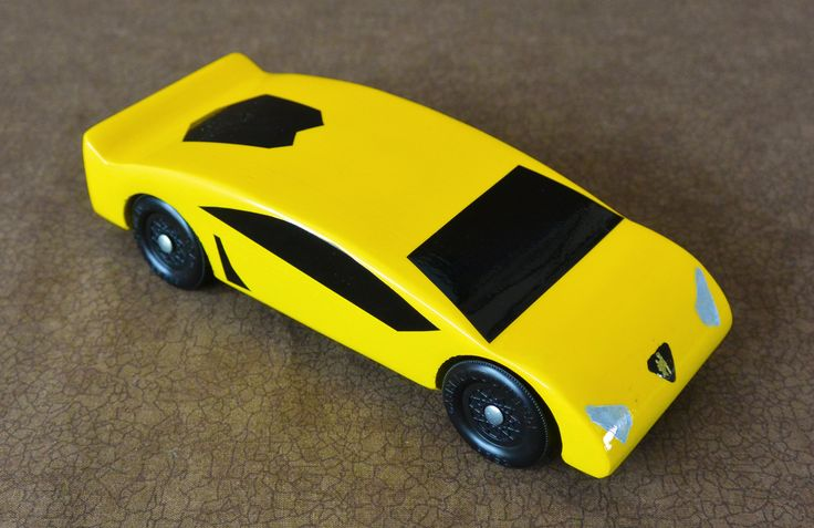 lamborghini aventador for pinewood derby