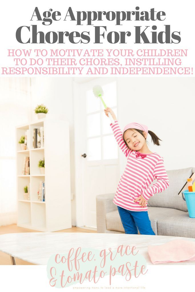 Age Appropriate Chores For Kids. How to motivate your children to do their chores, instilling responsibility and independence. #intentionalliving #intentionalmotherhood #chores #motherhood #kids