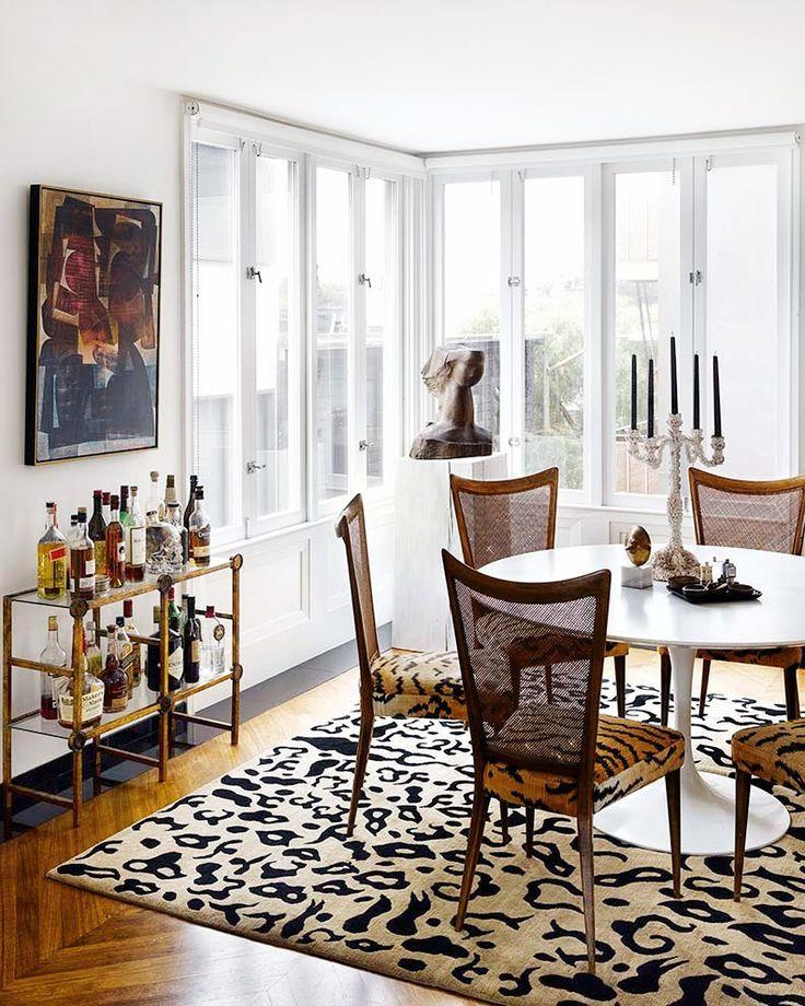 18+ Zebra print dining room set Ideas