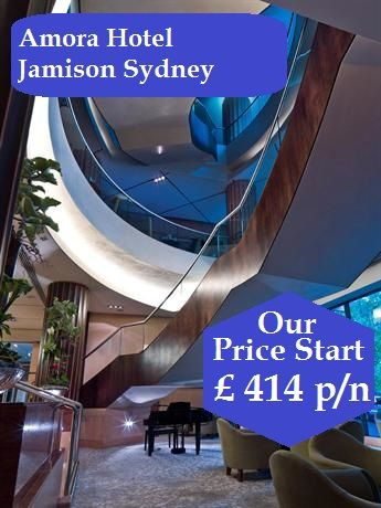 Amora Hotel Jamison Sydney Australia 5 Stars. Set in the heart of Sydney, Amora Hotel Jamison Sydney is situated near Wynyard Railway Station, and provides easy access to local restaurants and bars. It also provides a swimming pool, a Jacuzzi and a sauna.