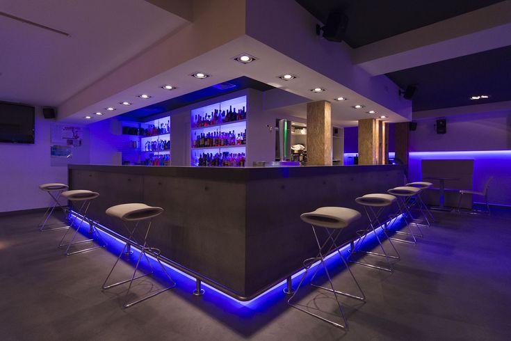Iluminación LED en Disco Pub Castillo (Almagro)