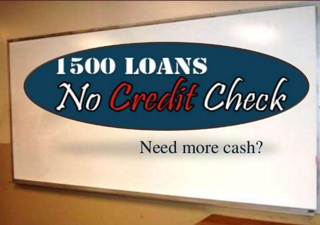 1500 Loans No Credit Check A Convenient Process to Accomplish Needs
