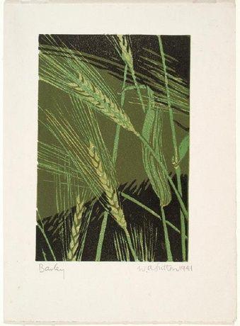 William Alexander Sutton New Zealander, b.1917, d.2000 Barley 1941