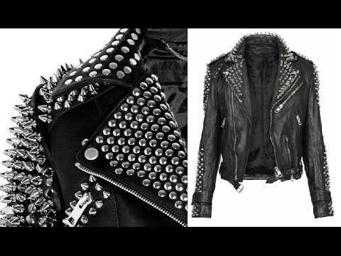 How to make a Studded and Spike Leather Jacket