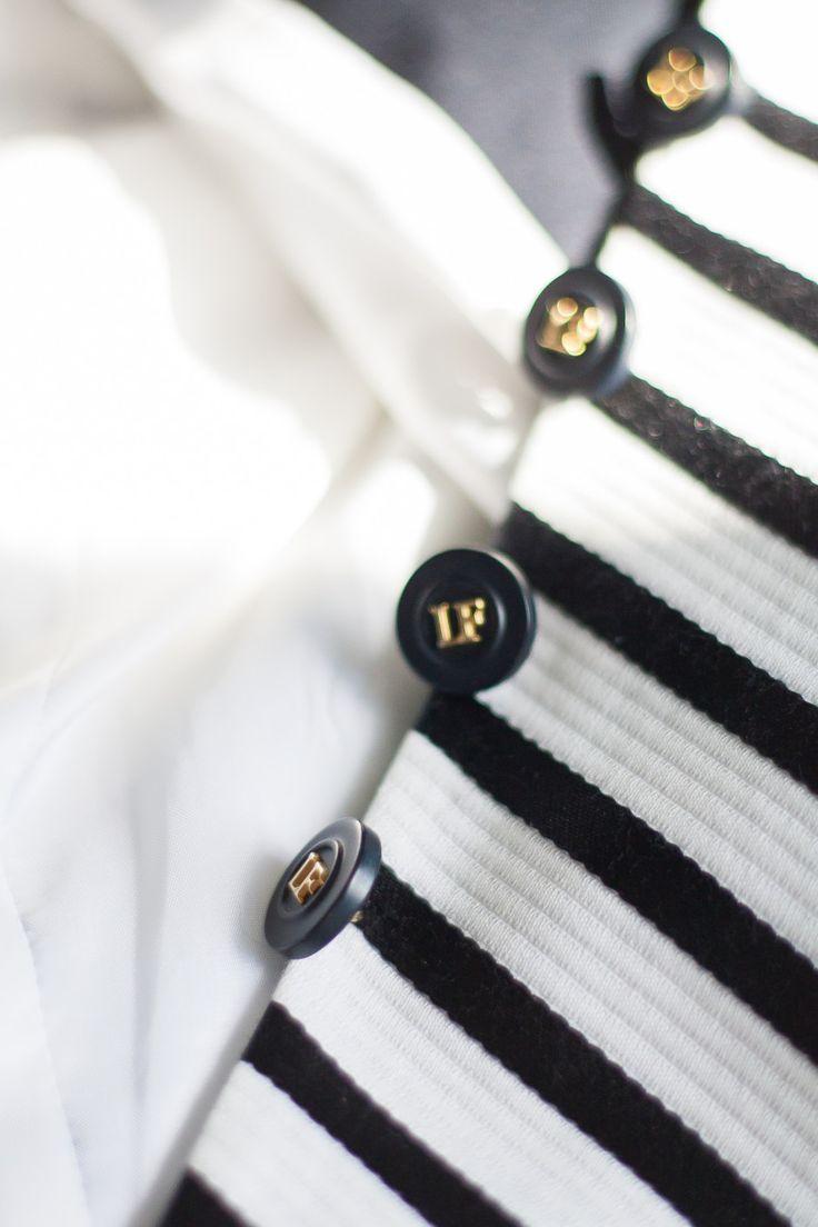 White against stripe