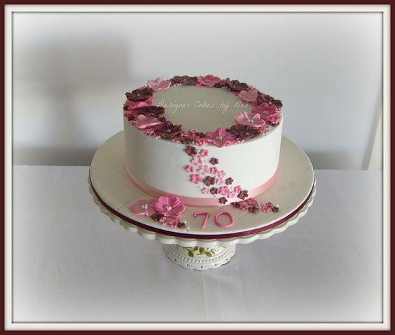Best 25 70th Birthday Cake Ideas On Pinterest 70