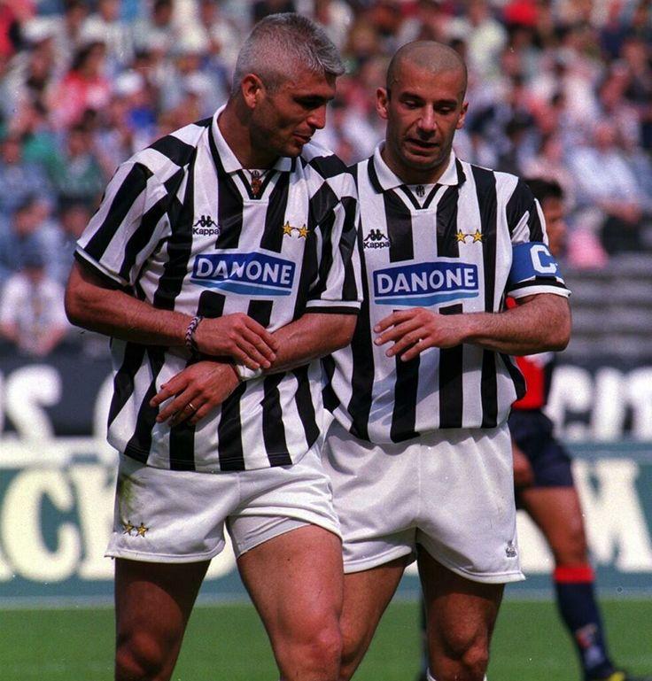 Fabrizio Ravanelli & Gianluca Vialli - Juventus