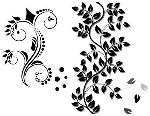 꽃 장식 무료 다운로드 벡터 - 인공 지능 EPS, CDR - 무료 그래픽 다운로드